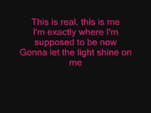 This Is Me Lyrics Camp Rock - YouTube