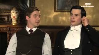Dan Stevens and Rob James-Collier Downton Abbey Interview