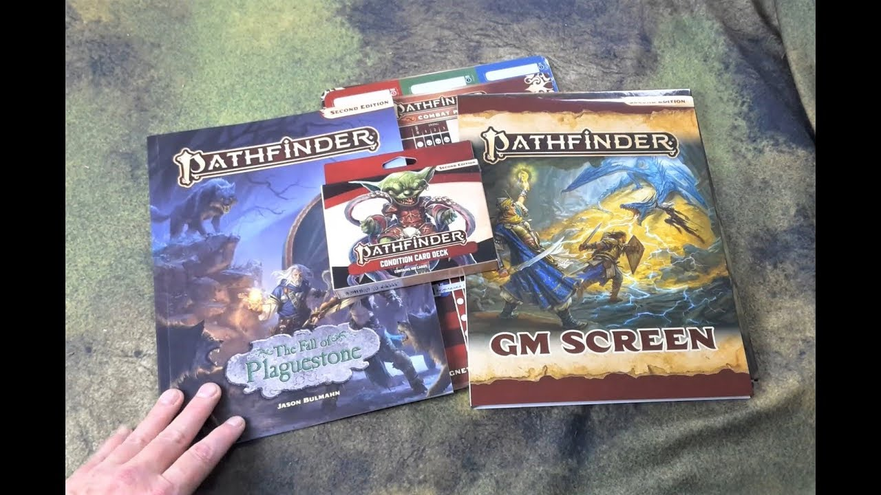 Pathfinder 2nd Edition GM Screen P2 2e Rulebook Manual New