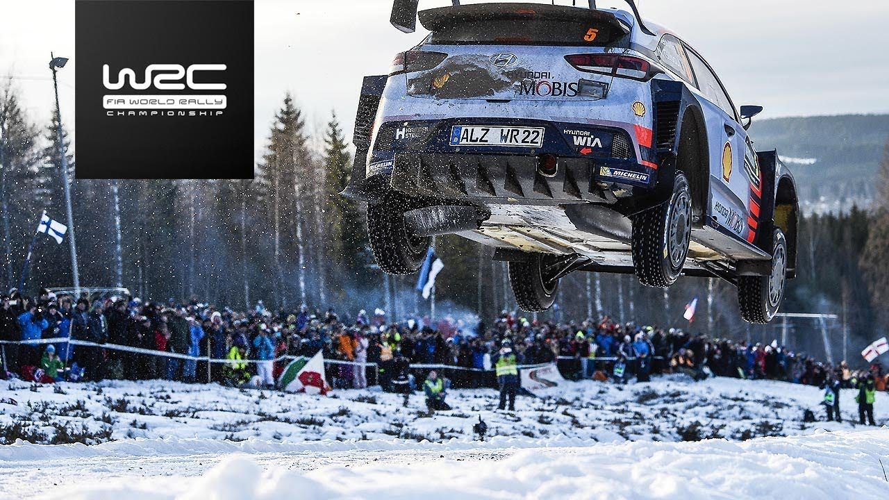 WRC - Rally Sweden 2018: Tease...