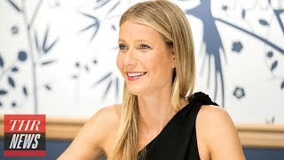 Gwyneth Paltrow Is Covered In Mud For First Goop Magazine Cover | THR News