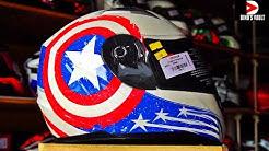 Captain America Helmet? Origine Helmet Review #Helmets@Dinos