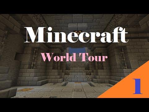 EPIC DWARVEN BASE! Minecraft World Tour /...
