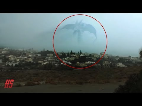 Top 5 Mysterious Gigantic Sea Monster Sightings - September 2018
