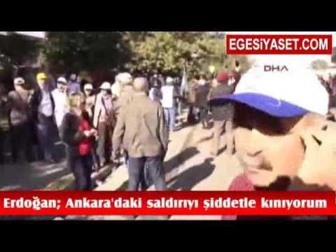 Erdoğan'dan Ankara Saldırısı Sonrası İlk Açıklama!