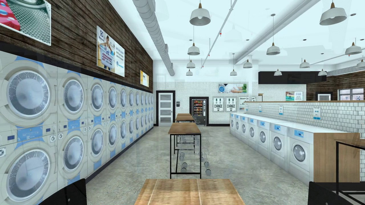 An Electrolux laundry stands out from the competition