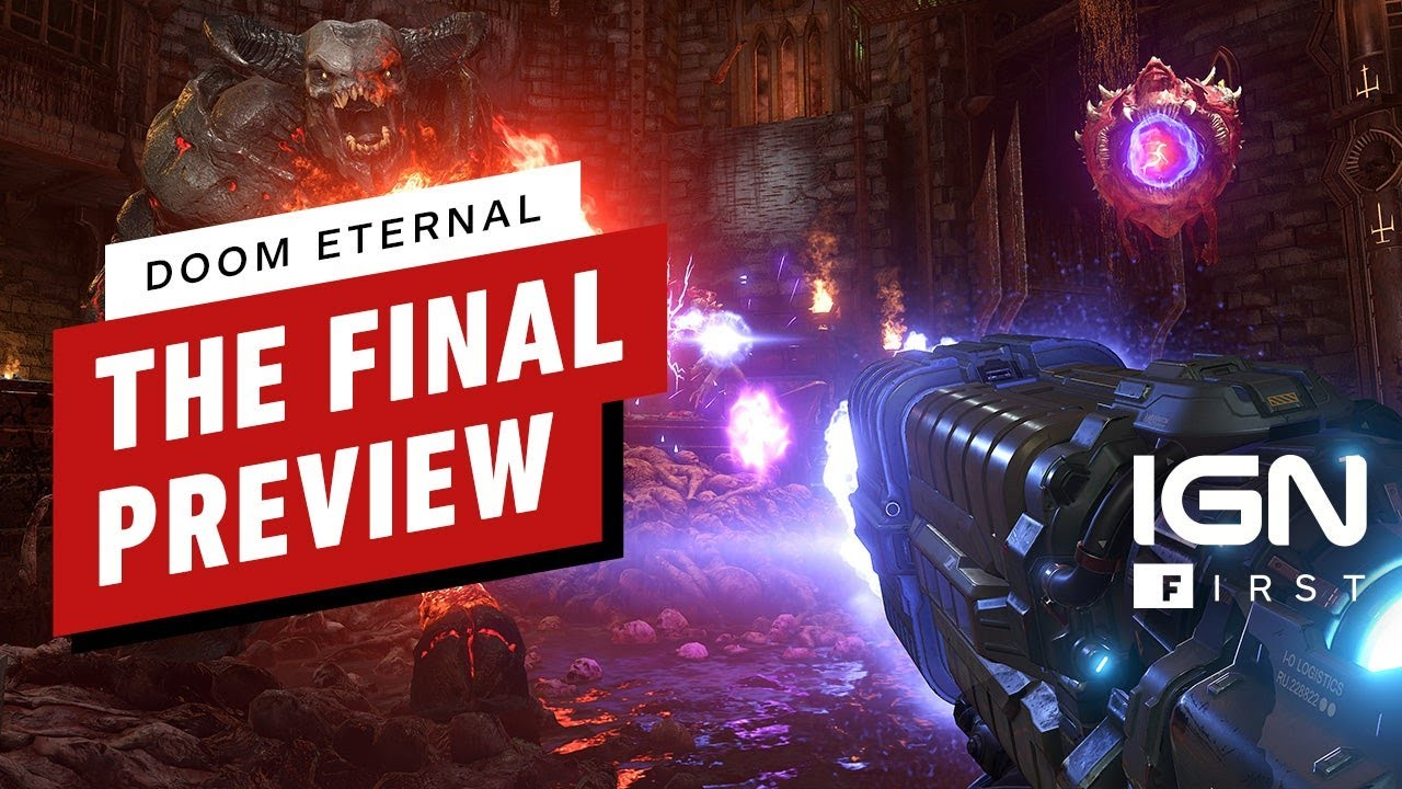 DOOM Eternal: The Final Preview - IGN