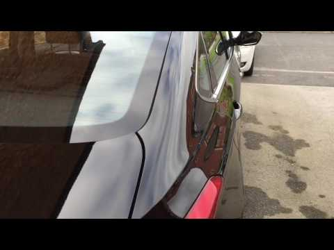 Dent in the pillar, Paintless dent removal,