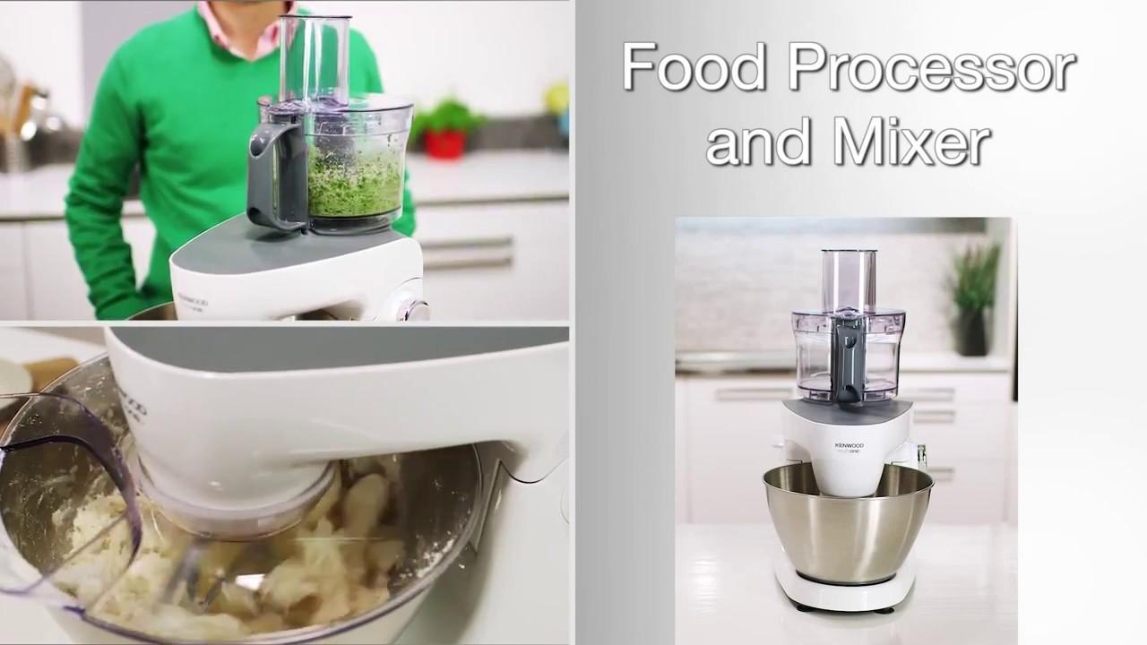 Kenwood Multione Roboty Kuchenne Youtube