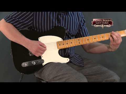 Fender Custom Shop 60th Anniversary Series Esquire 1-Pickup Electric Guitar Black