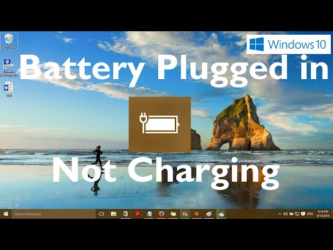 "Fix: ""Battery Plugged in Not Charging"" in Windows 10 - Two Methods"