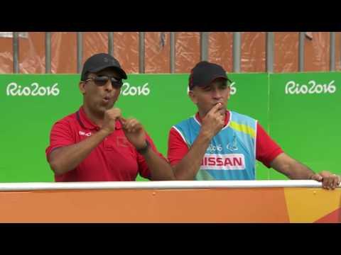 Football 5-a-side |Morocco v Iran | Preliminary Match 7 Rio 2016 Paralympic Games