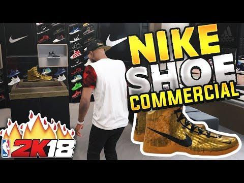 NBA 2K18 MyCAREER - NIKE SIGNATURE SHOE COMMERCIAL! My Nike Endorsement Ep. 16 (PS4 Pro Gameplay)