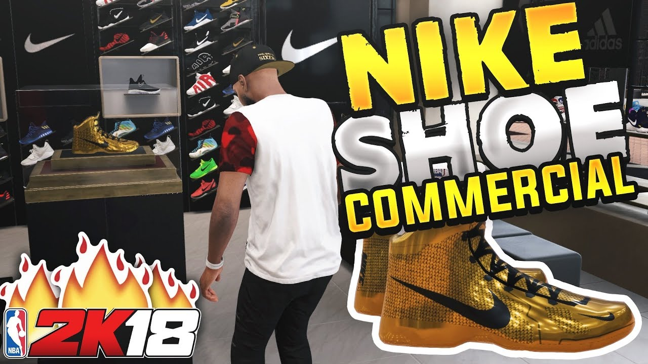 NBA 2K18 MyCAREER - NIKE SIGNATURE SHOE COMMERCIAL! My Nike Endorsement Ep.  16 (PS4 Pro Gameplay). iPodKingCarter