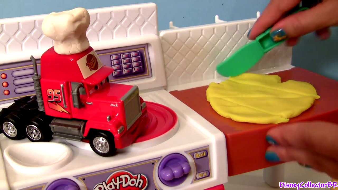 Play Doh Knet Küche Play Doh Meal Making Kitchen Croissants With Disney Cars Juguete La Super Cucina Playdough Cocinita Funtoys Collector Disney Toys Review 03 07 Hd