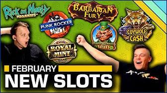 New Slots of February 2020