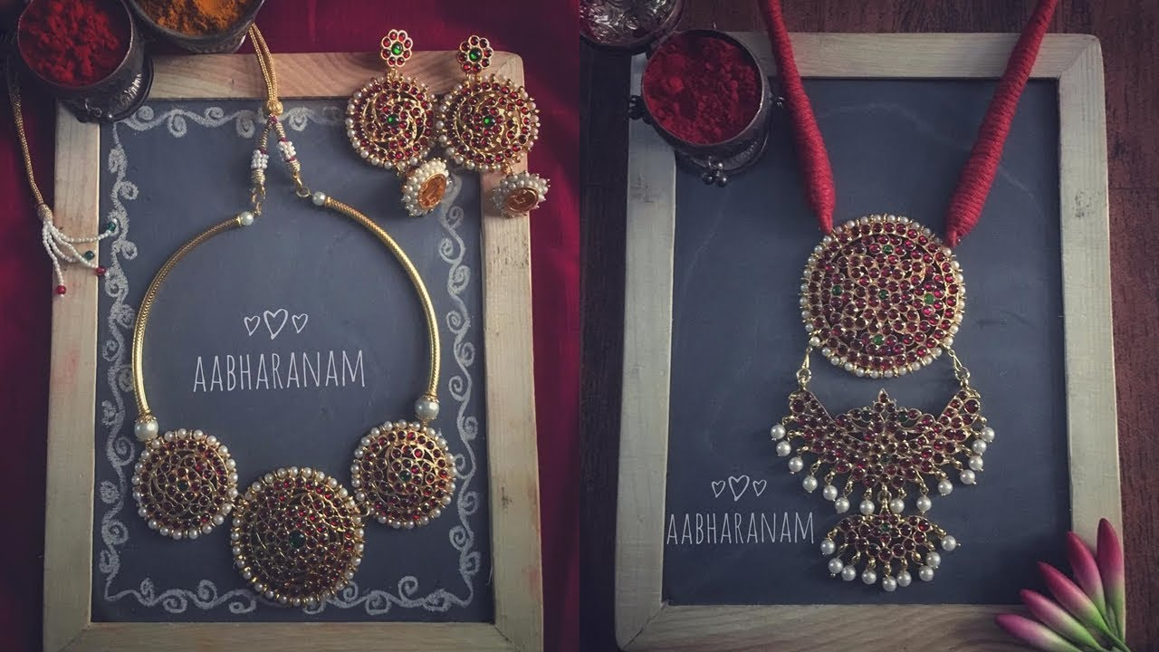 Bharatanatyam Temple Jewellery Designs & Where To Shop Online