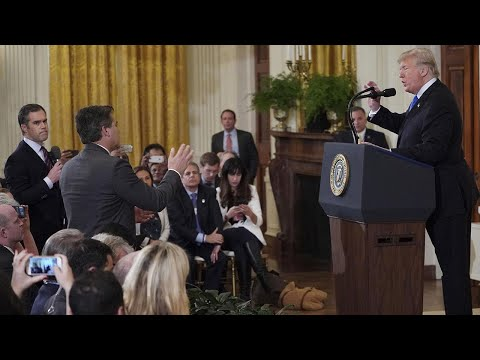 Was Video of Reporter Jim Acosta Doctored to Look More Aggressive?