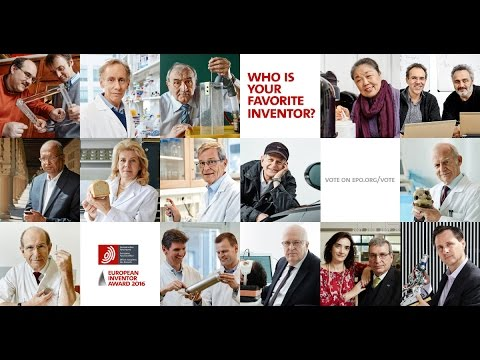 European Inventor Award 2016 - The Finalists