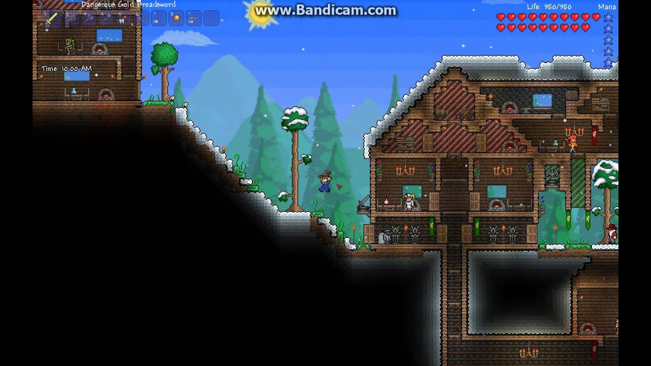 Terraria Snow Town YouTube