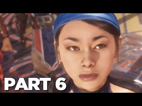 MORTAL KOMBAT 11 STORY MODE Walkthrough Gameplay Part 6 - KITANA (MK11)