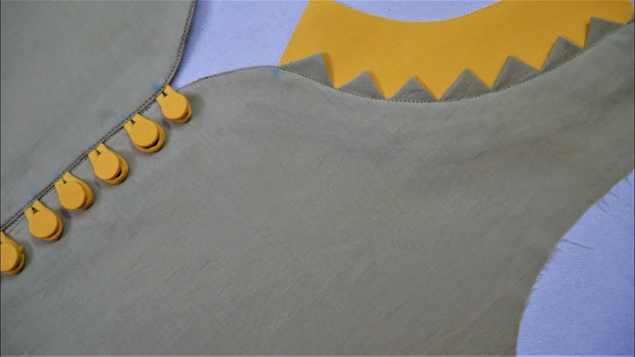 Latest And Unique Neck Design Cutting And Stitching (Easy Method ... 595ded2a1