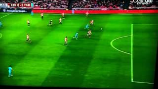 Neymar goal vs Athletic Bilbao 2-0 1/20/16