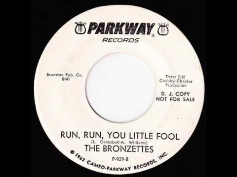 Run Run You Little Fool-Bronzettes-'64-Parkway 929.