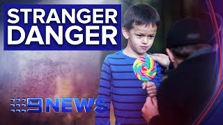 Frightening results as we test how trusting kids are | Nine News Australia