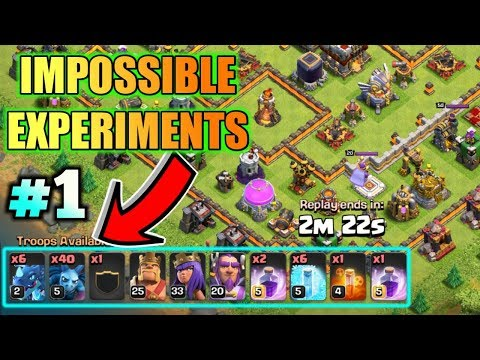 IMPOSSIBLE CHALLENGE IN CLASH OF CLANS EPISODE #1