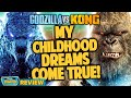 Godzilla vs kong movie review featuring chris stuckmann  double toasted