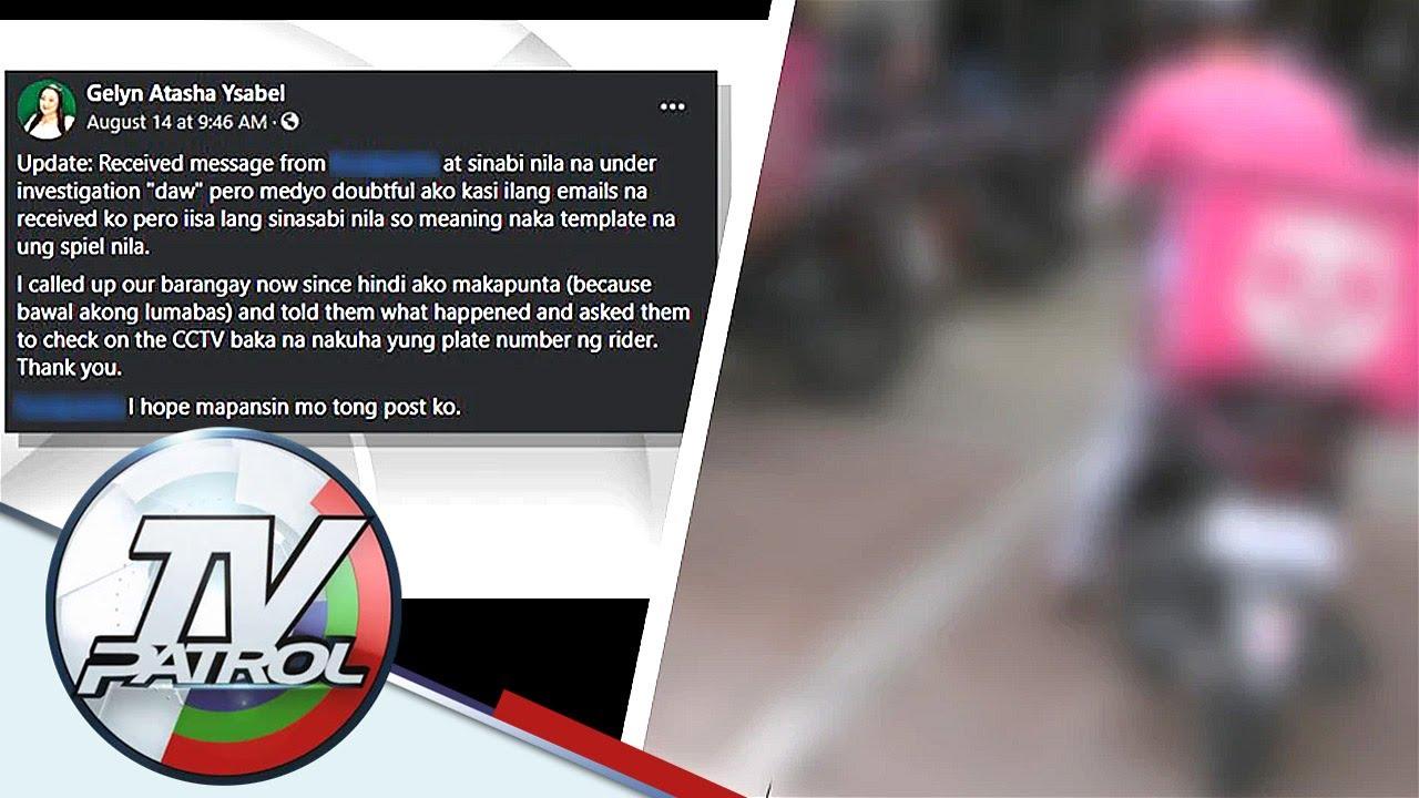 Download Delivery rider inireklamo ng pambabastos sa dalagita; DTI may paalala   TV Patrol