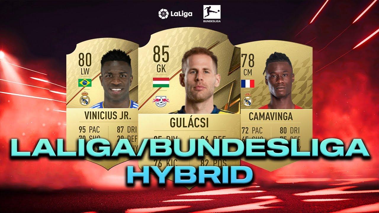 BUNDESLIGA/LALIGA HYBRID CSAPAT - FIFA22 ULTIMATE TEAM