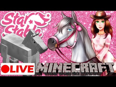 🔴  The Mythical World of Ponies! | Minecraft Live Stream & Star Stable Online Live Stream