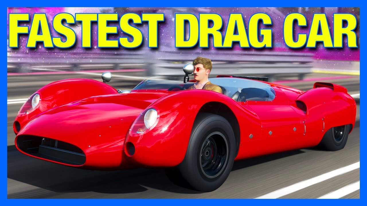 Forza Horizon 4 The New Fastest Drag Car Youtube