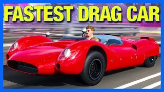 Forza Horizon 4 : THE NEW FASTEST DRAG CAR!!