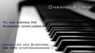 Tu Aashiqui Hai Karaoke|Track Unplugged By Rohan