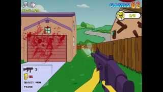 Simpsons game online - Simpsons 3D Shootout - Play Free