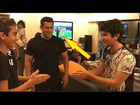 Salman Khan Playing Hand Slap Game With His Nephews Arhaan & Nirvaan Mp3
