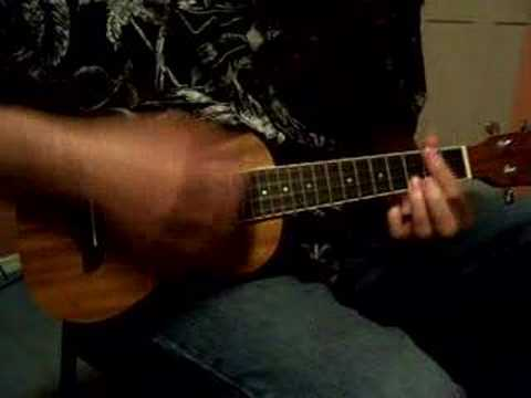 Ukulele lesson Hapa Haole Hula Girl key of G