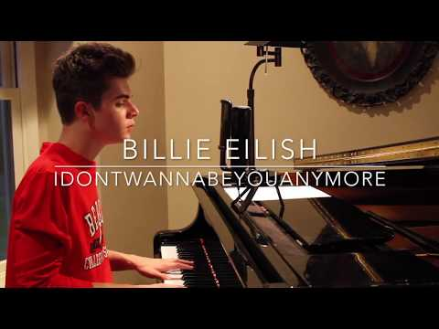 Billie Eilish - idontwannabeyouanymore (Cover by Jay Alan)