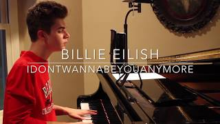 Billie Eilish - idontwannabeyouanymore (Cover by Jay Alan)