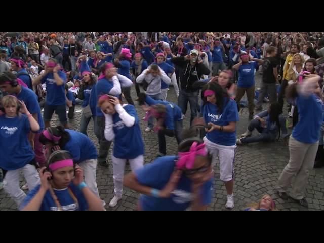 Film FlashMob Techno Parade