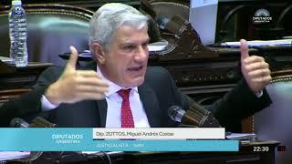 Video: Así habló el diputado Zottos sobre el aborto