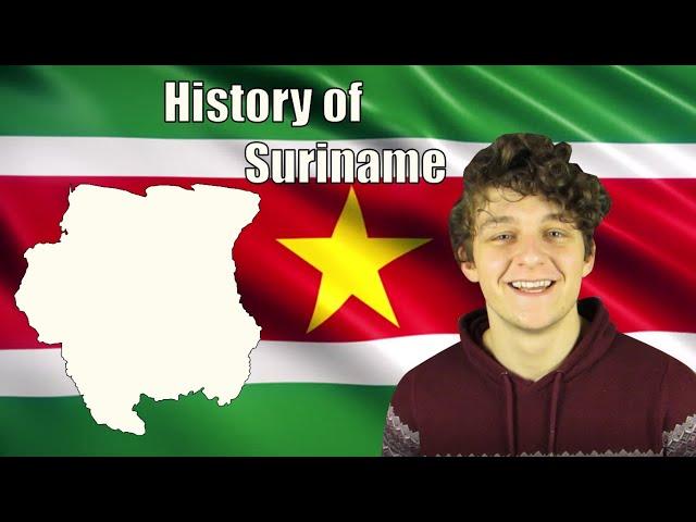 History of Suriname