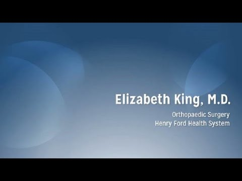 Elizabeth King, MD - Hand Orthopaedic Surgery, Henry Ford Health System