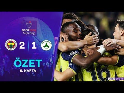 Fenerbahçe 2-1 Giresunspor Geniş Maç Özeti HD – 2021