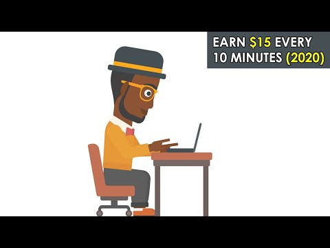 Make $15 Every 10 Minutes (Make Money Online Now) (2020)