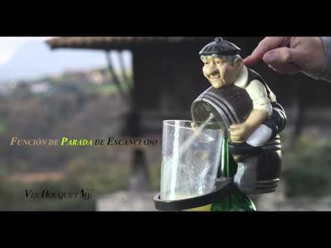 Disfruta de los culmines mejor tirados con nuestro escanciador eléctrico El Paisano, con filtro incluido. http://www.vinbouquet.com.