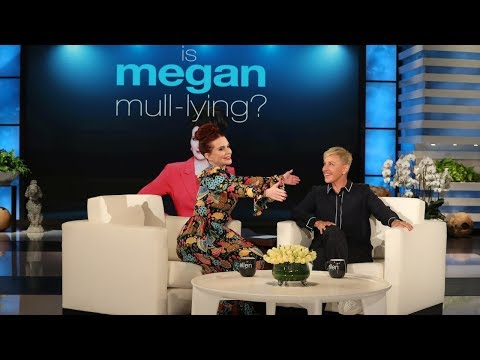 Ellen Figures Out If Megan Mullally Is 'Megan Mull-lying'